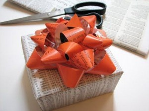 Newspapers and magazines - repurpose and recycle!
