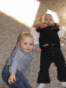 Wryder and Breckyn just hanging out...