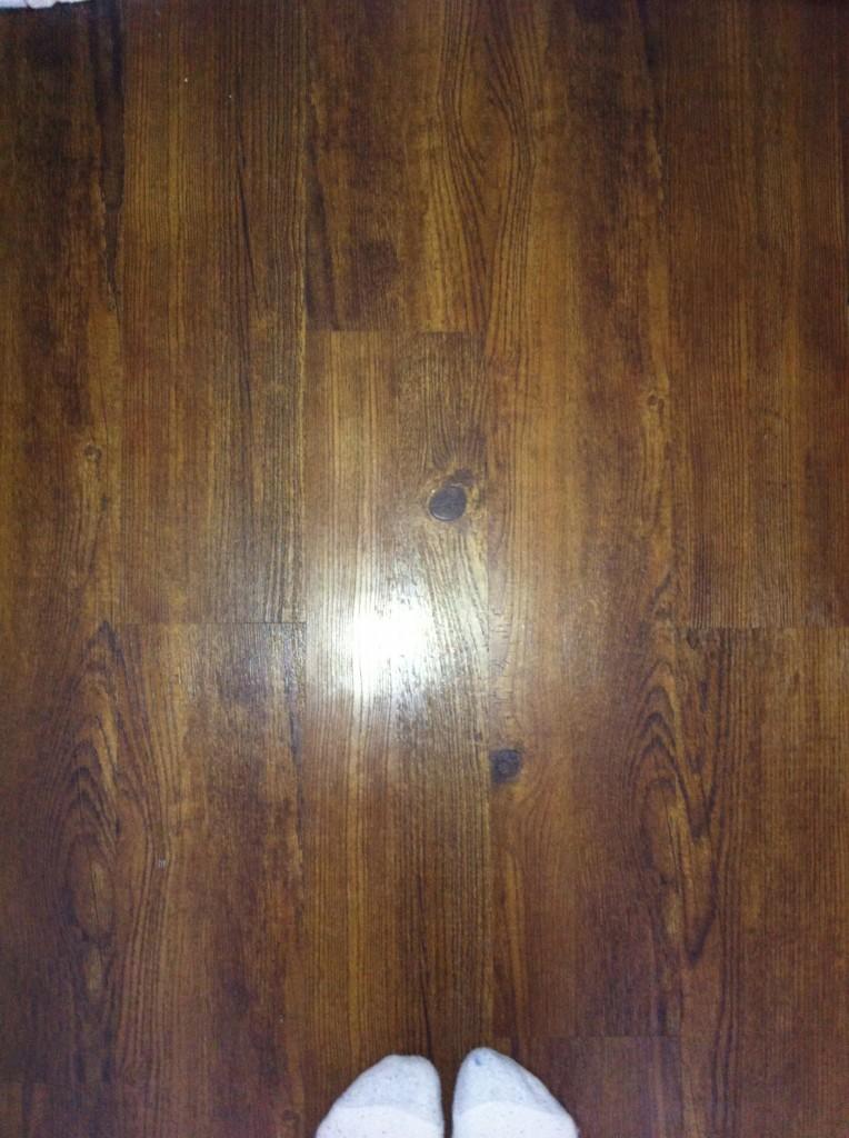 New flooring...