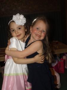 Sawyer and Anley, the birthday princess!