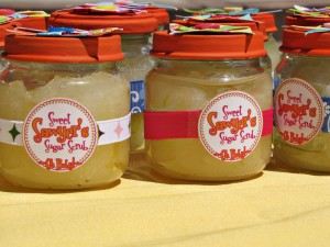 Sugar scrub as thank you gifts - another fave!