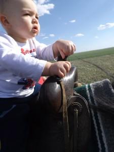 I'm a cowboy, baby...
