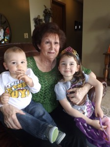 Goo-Goo and two of her great-grands!
