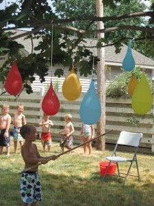 Water balloon pinatas WILL be happening this summer.