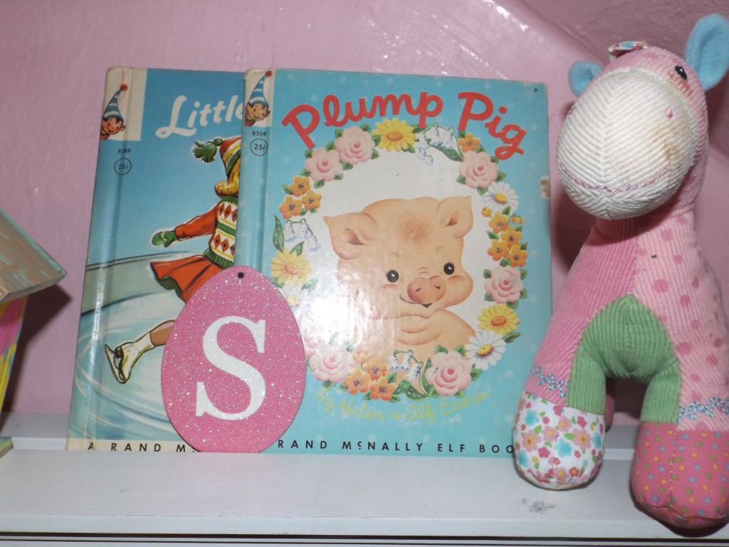 These books were two of my mom's favorites when she was growing up which she then gifted to Sawyer...