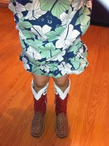 Our sale barn attire...