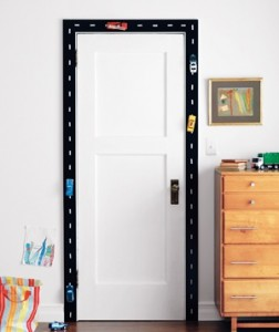 Awesome door frame, yes?!