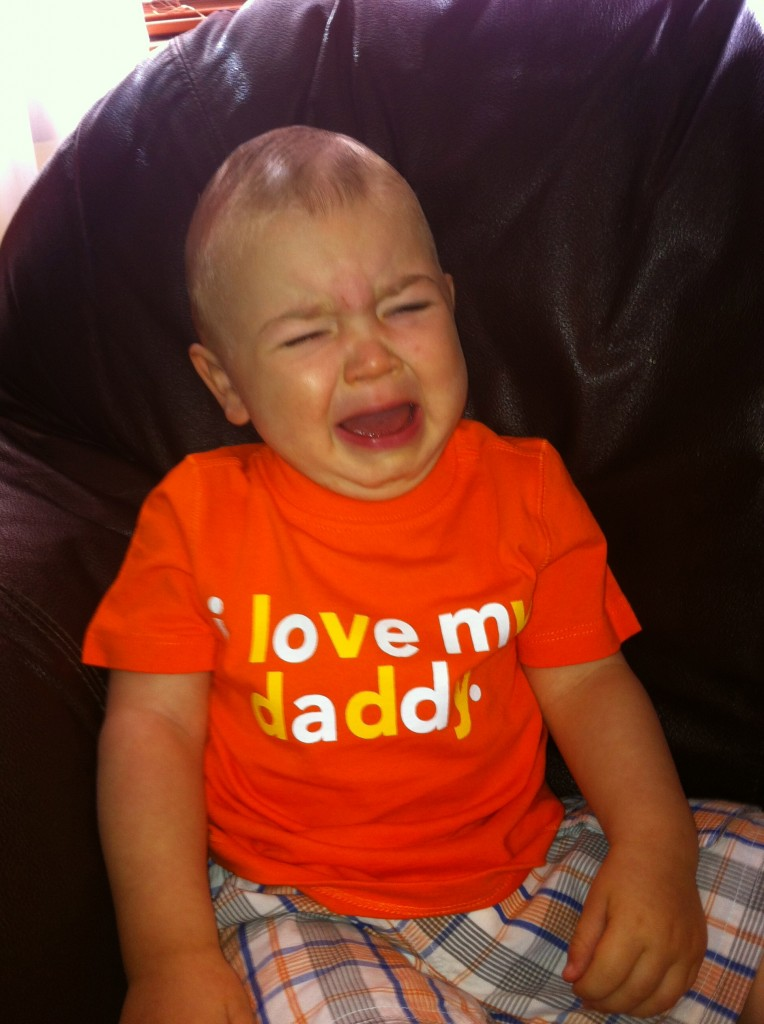 I am not loving mommy right now...