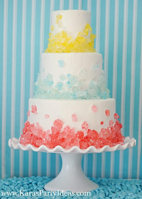 Who doesn't want a rock candy cake??