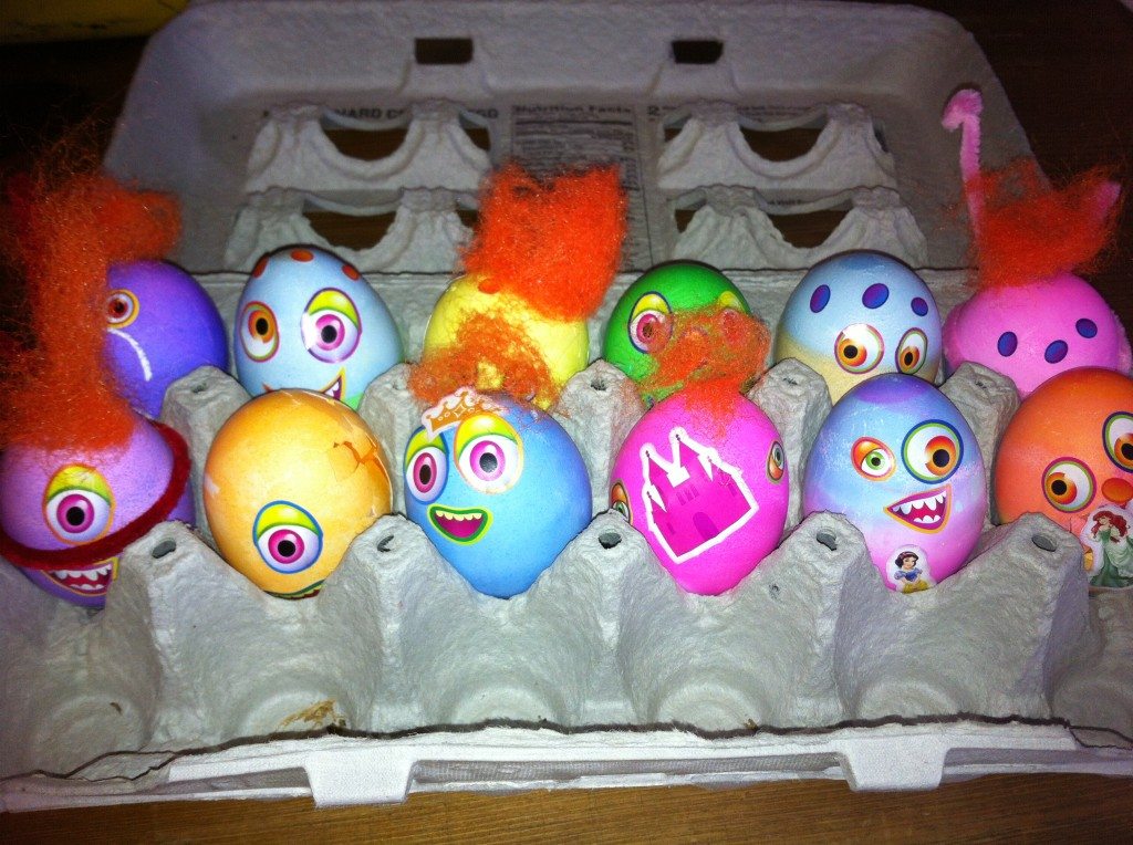 Our little egg creatures...
