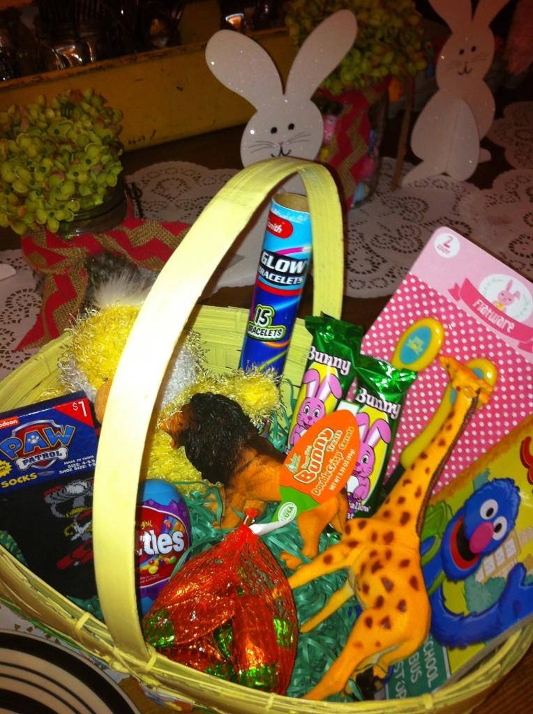 WD's Easter basket