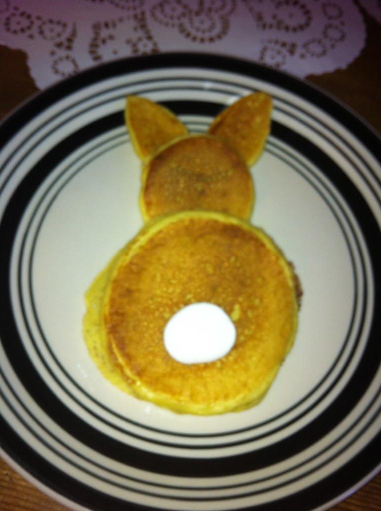 Bunny breakfast