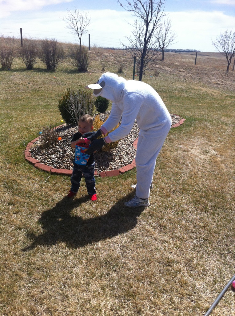 The Easter bunny was a big helper...