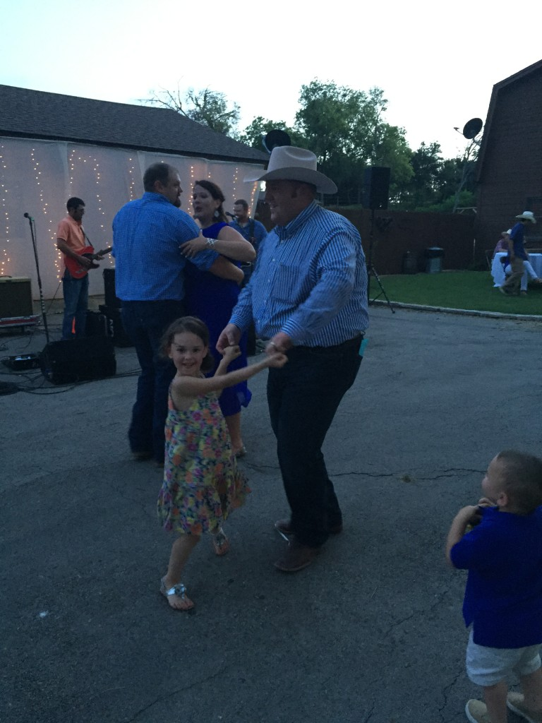 Dancing with Uncle Dustin