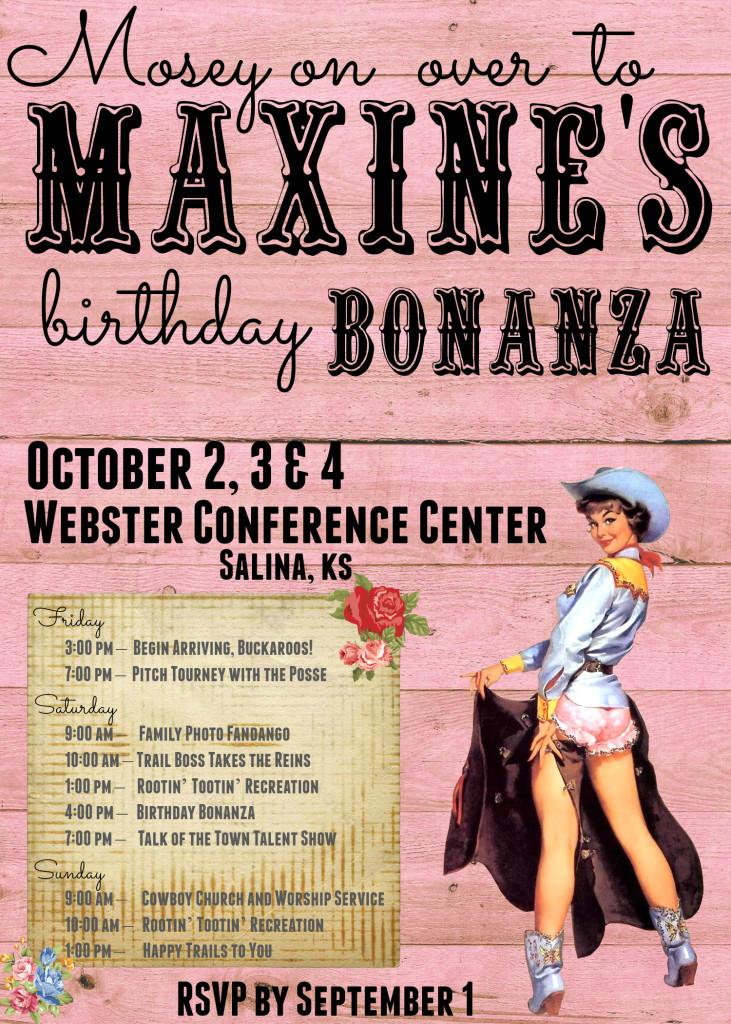 Birthday Bonanza Invitation