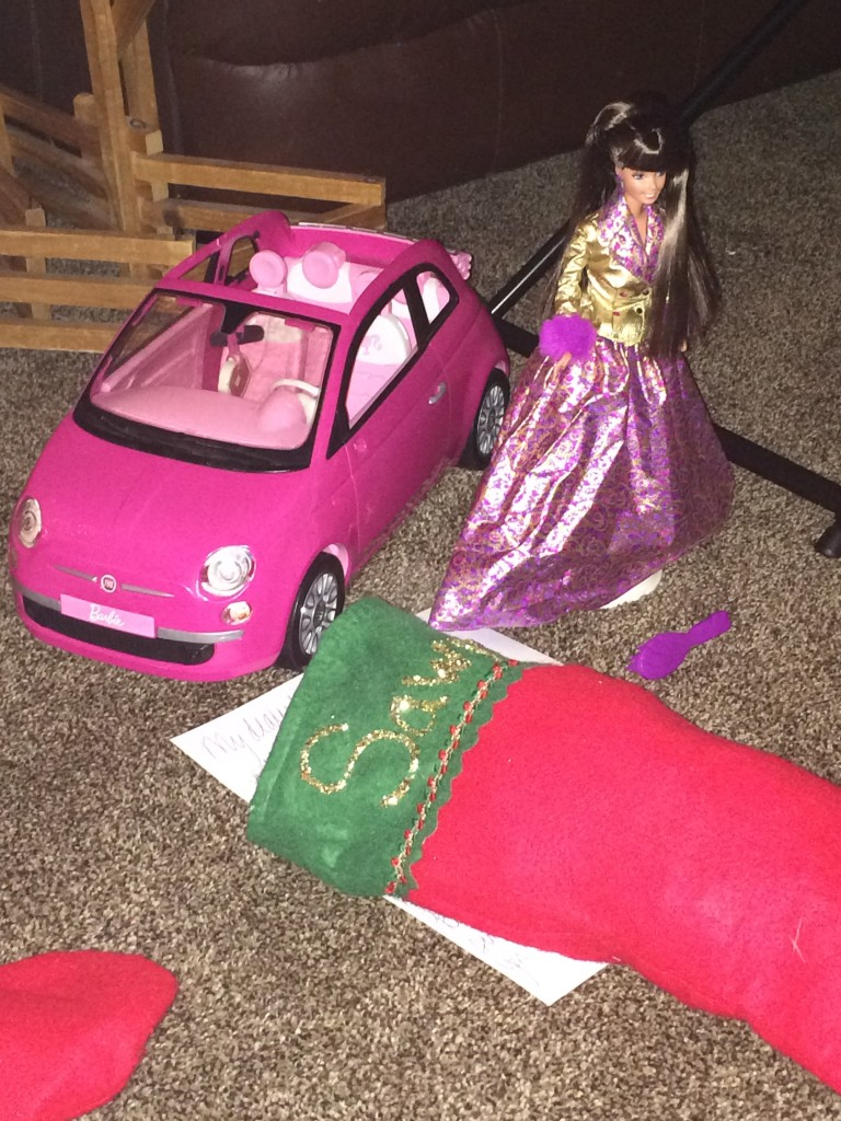 Barbie car for Sawyer