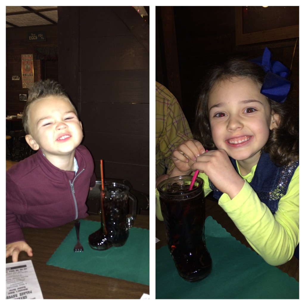 They loved their root beer in a boot - boot beer!