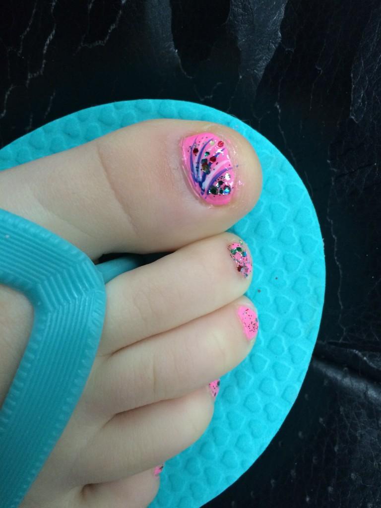 Sweet little feet