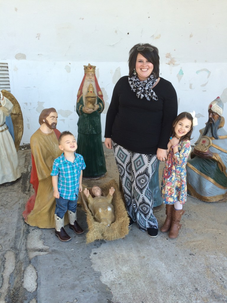 I love my babies...and baby Jesus