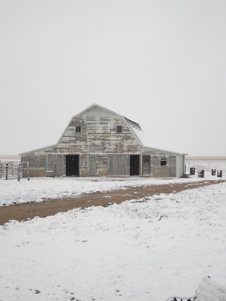 A few winters ago...
