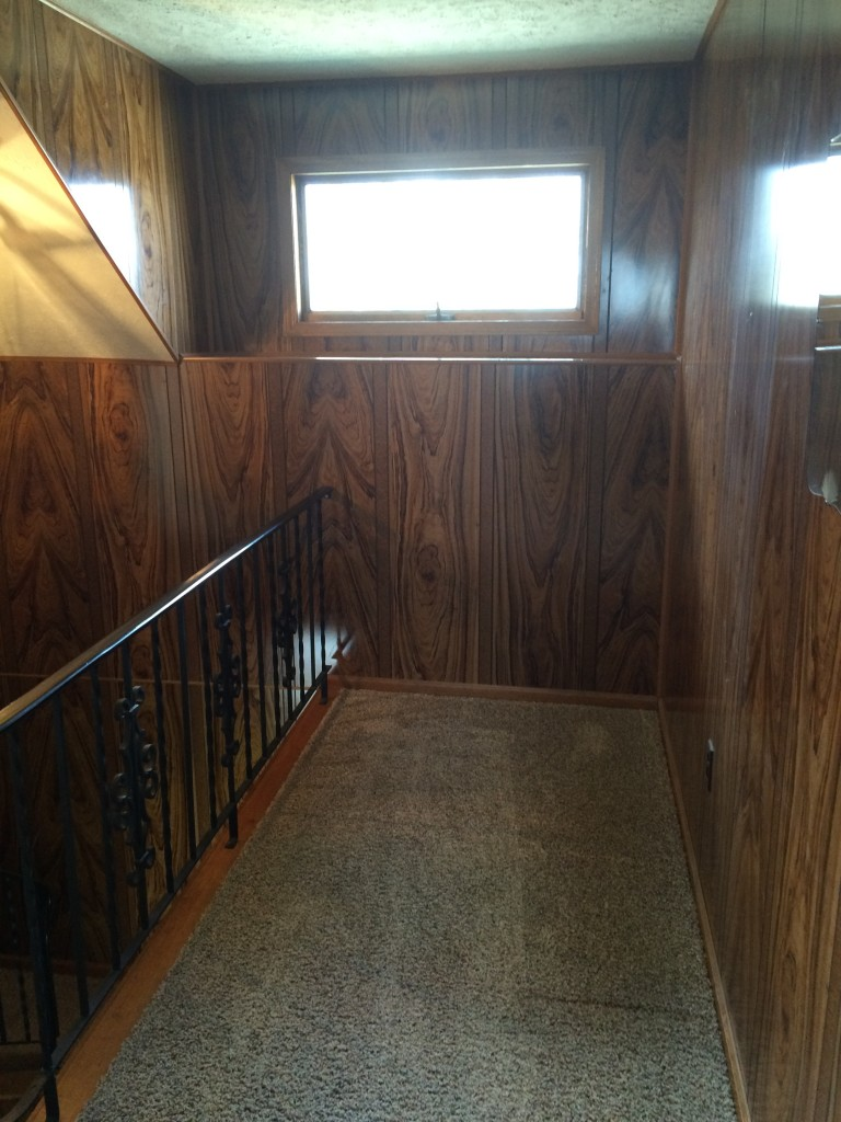Upstairs - empty