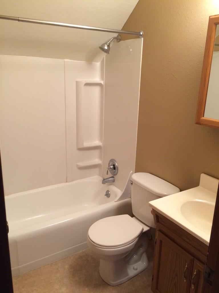 Kids' bathroom before