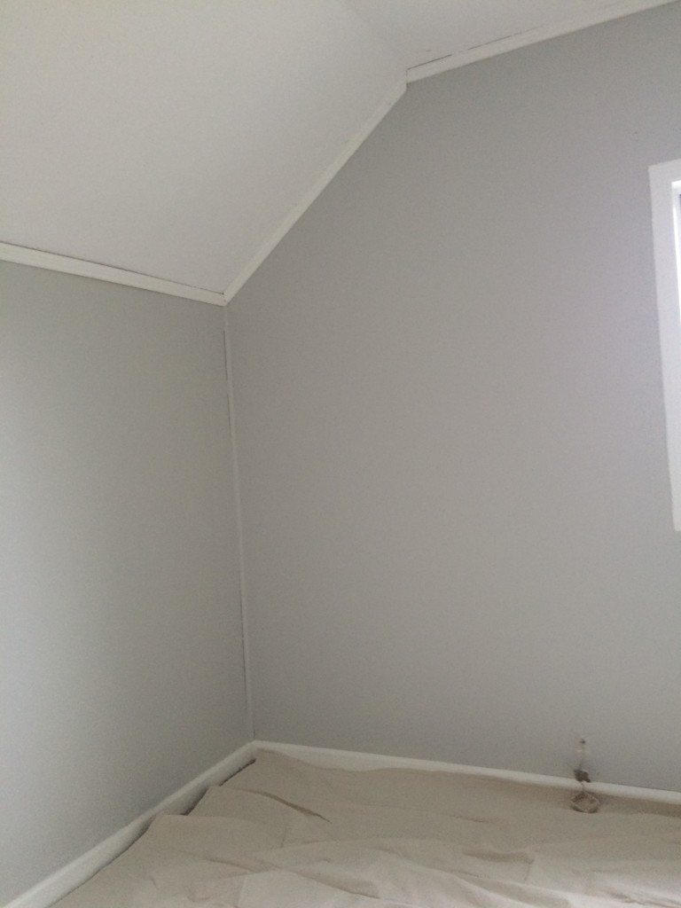 Wryder's room after paint