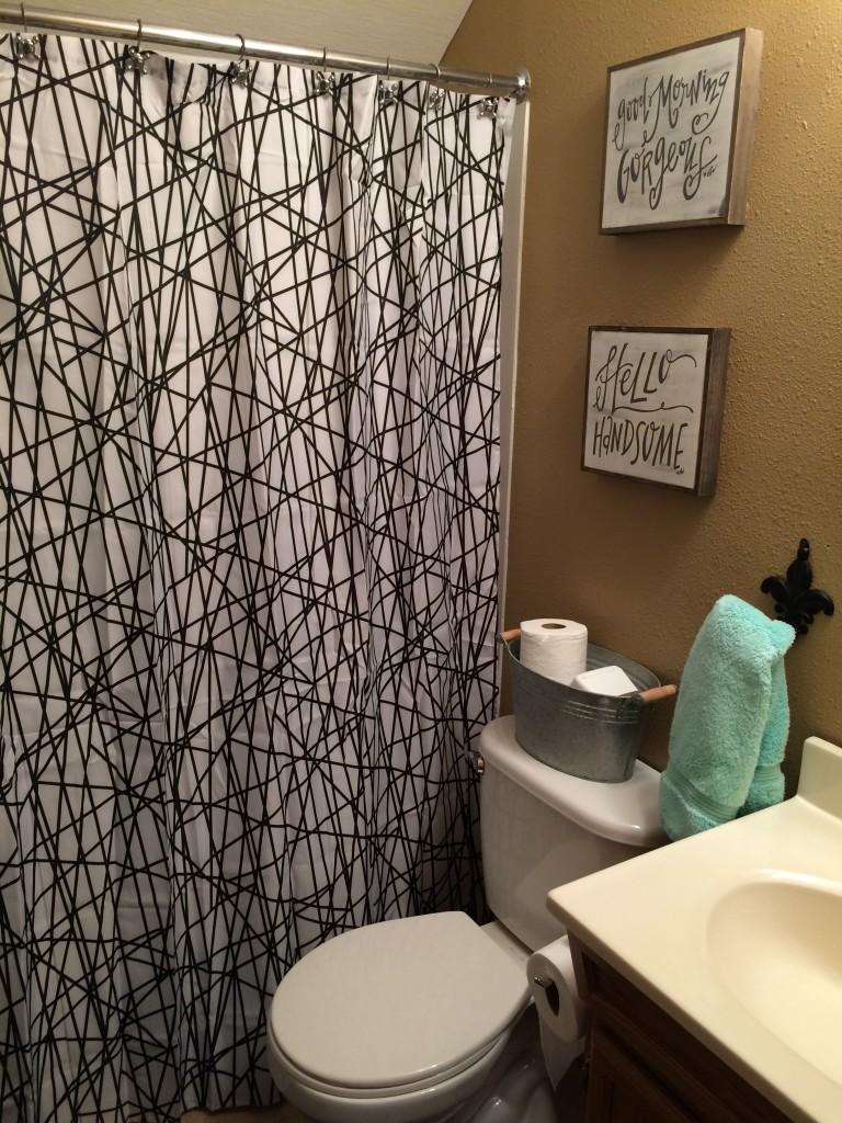Kids bathroom after!