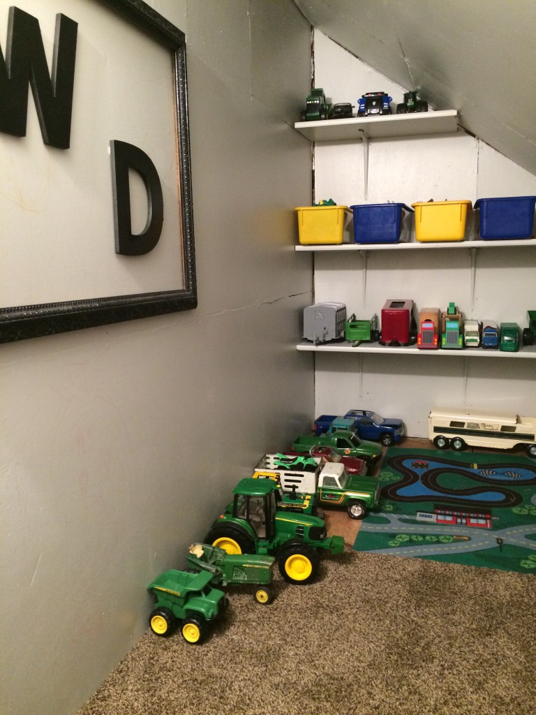 Wryder's toy room after