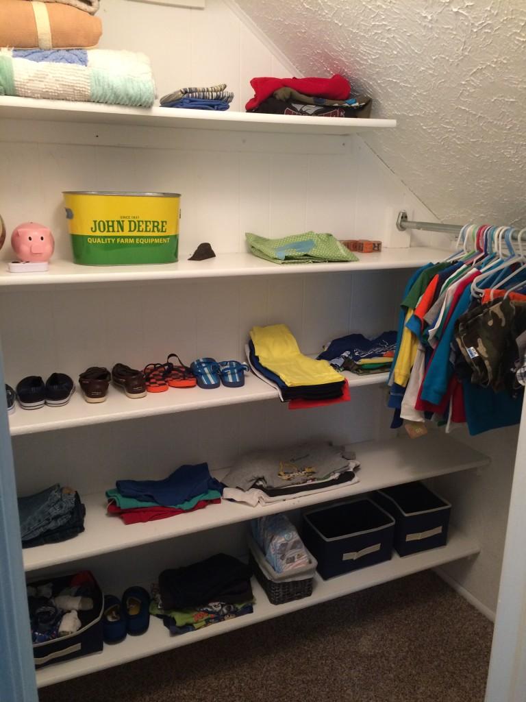 Wryder's big closet!