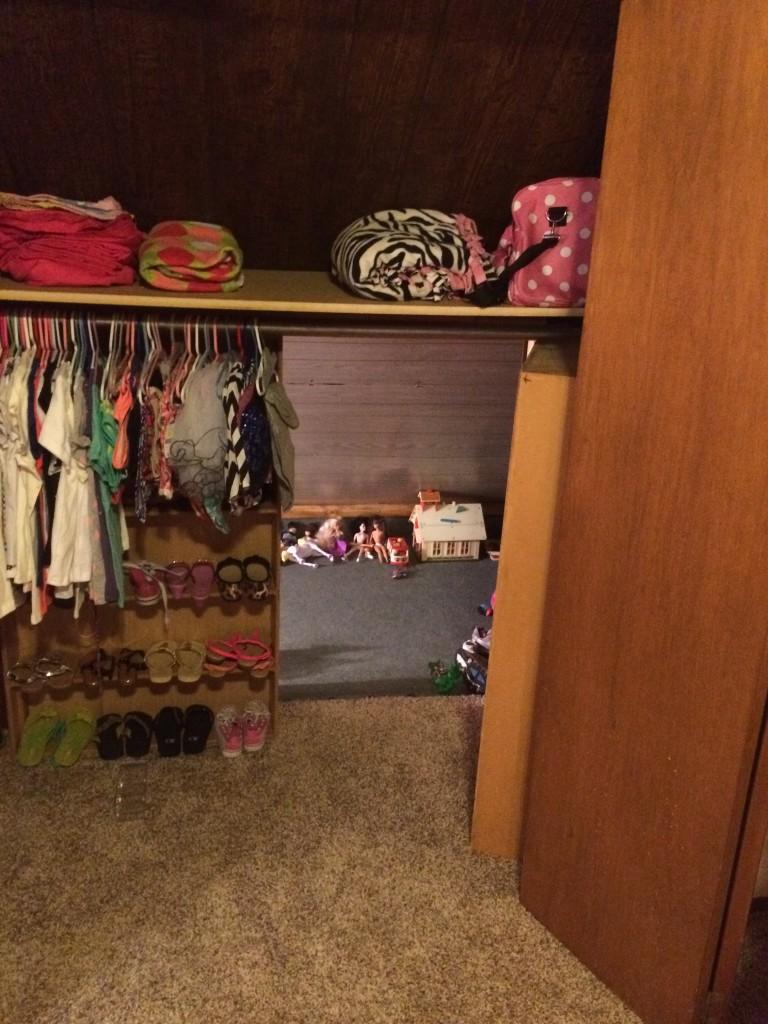 Sawyer's closet