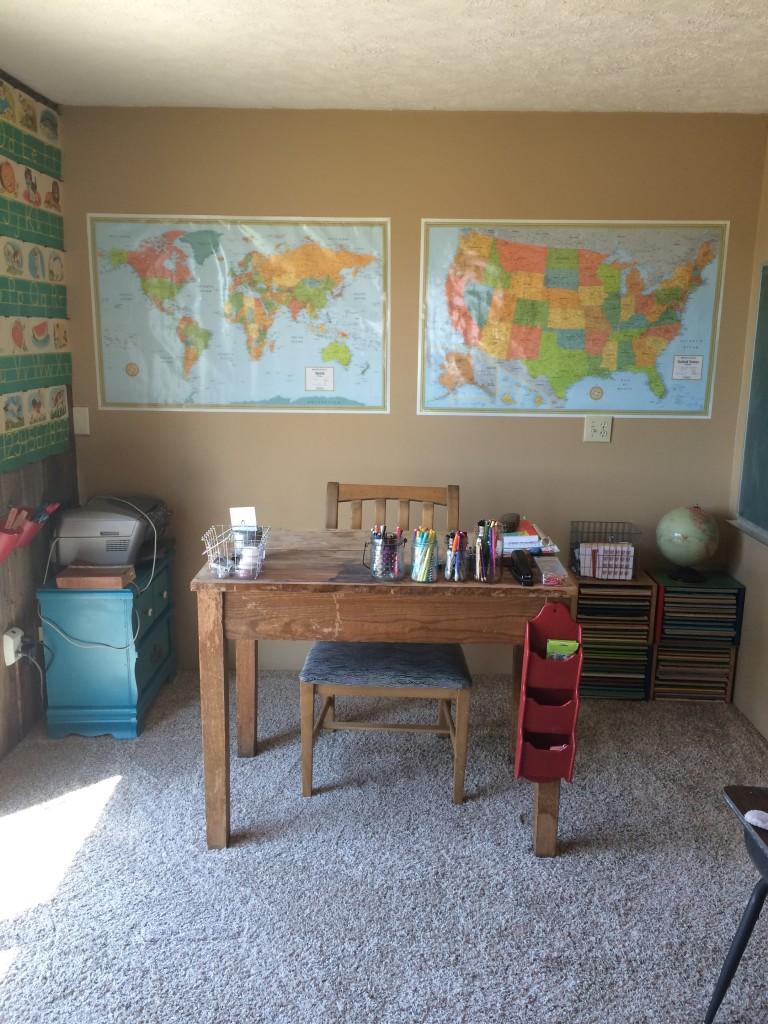 School room after