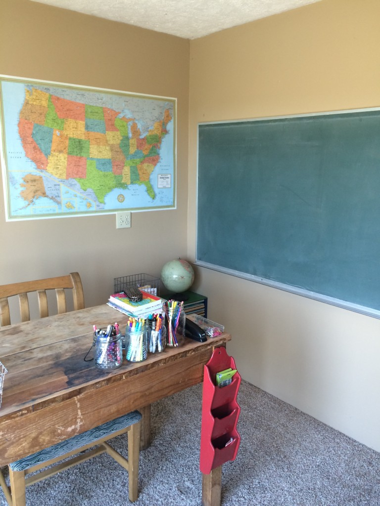 School room after