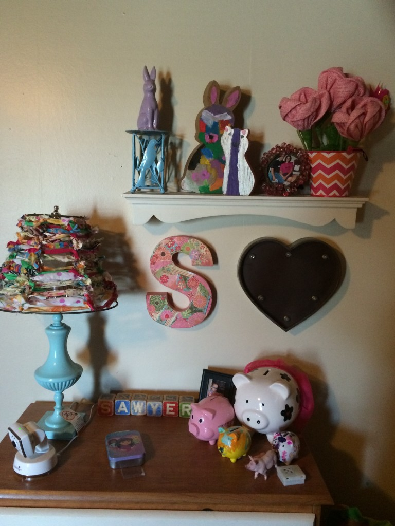 Sawyer's room and a few of her fun things!
