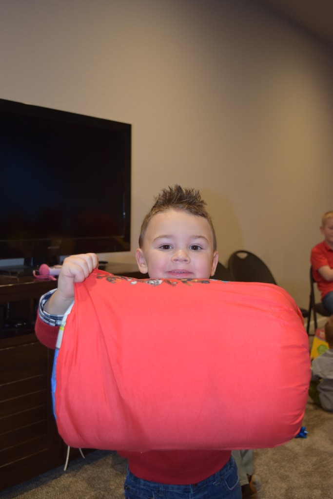 He LOVES his Paw Patrol sleeping bag from Goo Goo!