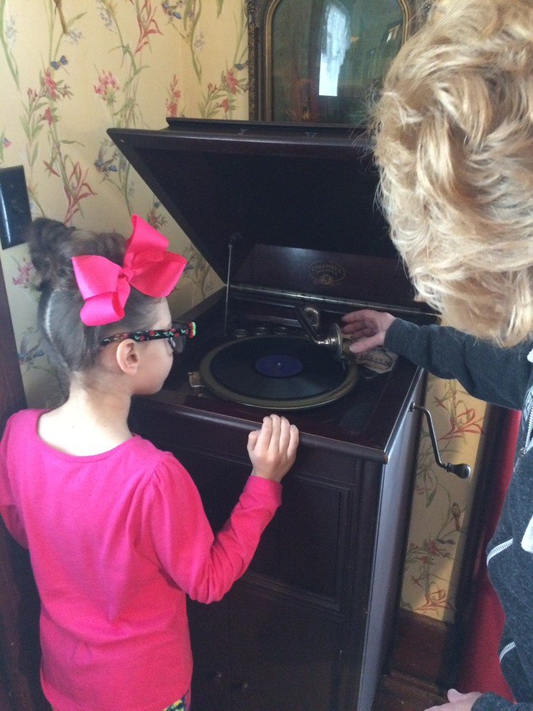 She loved the phonograph!!